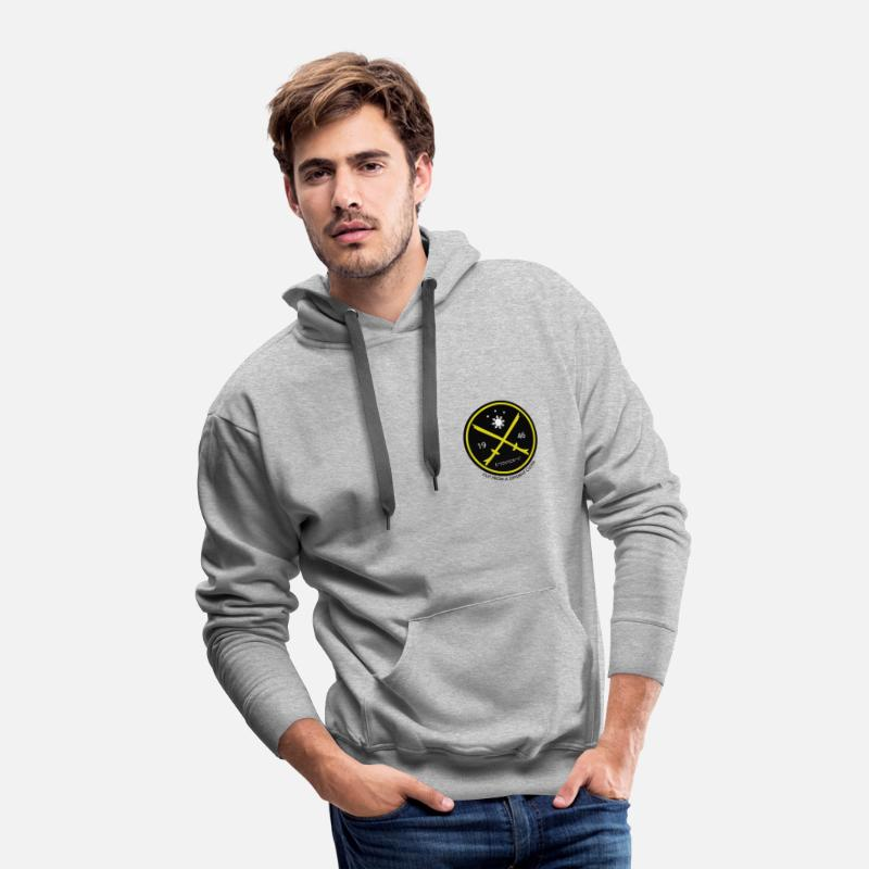 Filipino Hoodies & Sweatshirts - cut from a different cloth philippines design - Men's Premium Hoodie heather gray