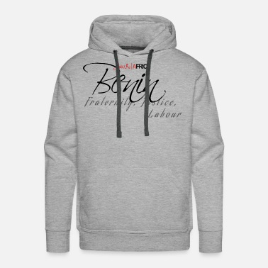 Sleek Benin Sleek - Light - Men's Premium Hoodie