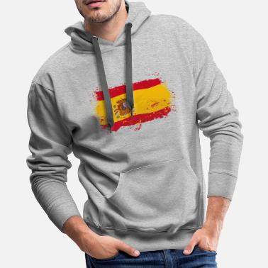 Spain Spain Flag - Men's Premium Hoodie