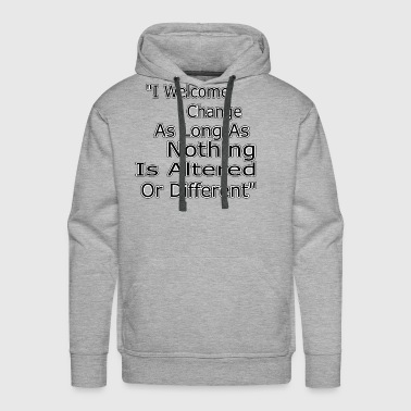 Funny Quotes Funny quote - Men's Premium Hoodie