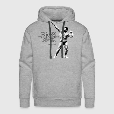 Mind Muscle Connection - Men's Premium Hoodie