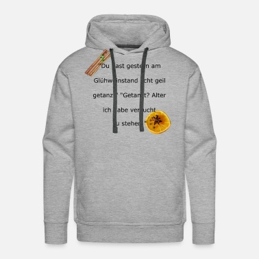 Shot Mulled wine black - Men's Premium Hoodie