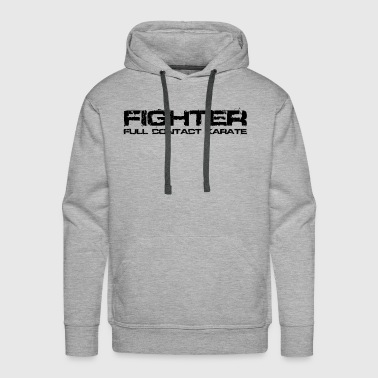 Karate Fighter Black - Men's Premium Hoodie