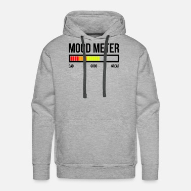 Mood MOOD METER GOOD MOOD - Men's Premium Hoodie