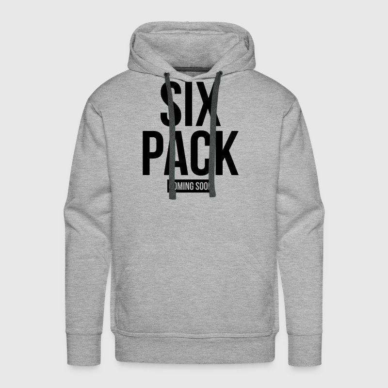 SIX PACK COMING SOON GYM WORKOUT FITNESS - Men's Premium Hoodie
