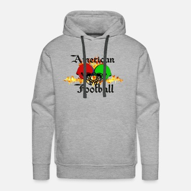Funny Football Sayings Funny sayings,Fun sayings, cool sayings,Football, - Men's Premium Hoodie