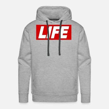 Obey LIFE cool Quote Obey Sign gift idea - Men's Premium Hoodie