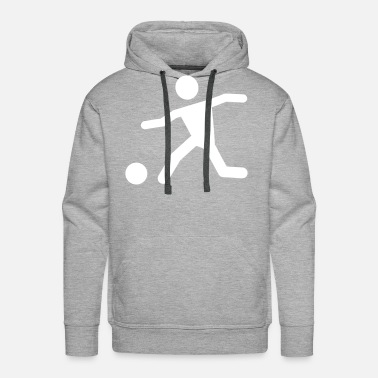 Ronaldo soccer Sprint man 1 football funny gift idea cool - Men's Premium Hoodie