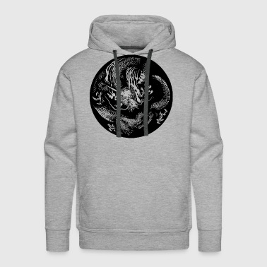 Japanese dragon - Men's Premium Hoodie