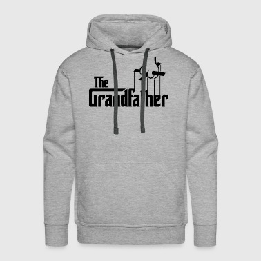 The Grandfather Father s Day - Men's Premium Hoodie