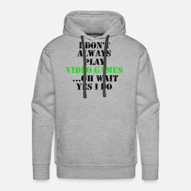 Video Game Video Games - Men's Premium Hoodie