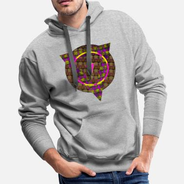 Lion Head Lion Head - Men's Premium Hoodie