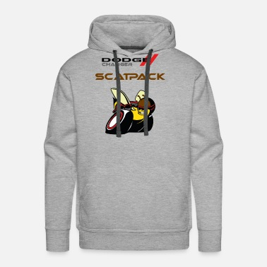 Dodge DODGE CHARGER SCATPACK - Men's Premium Hoodie
