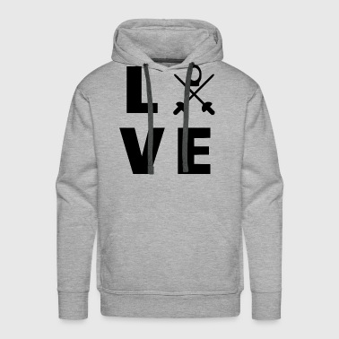 King love my sport - Men's Premium Hoodie