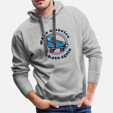 Make America Skate Again - Men's Premium Hoodie
