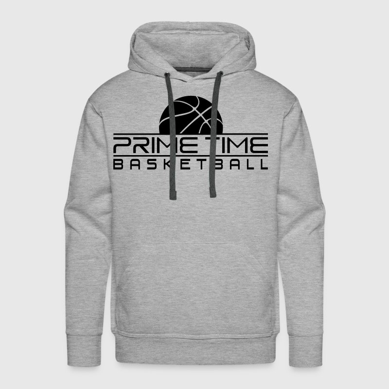 PRIME TIME BASKETBALL Blk Hoodies - Men's Premium Hoodie