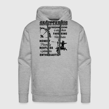 Things About Sagittarius Shirt - Men's Premium Hoodie