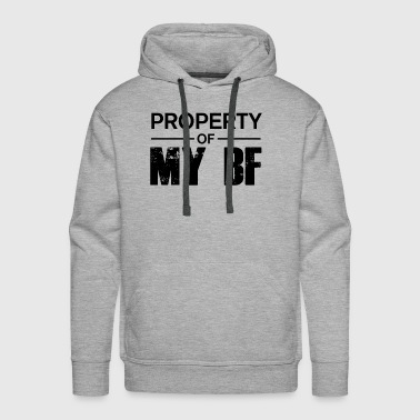 girlfriend present - Men's Premium Hoodie