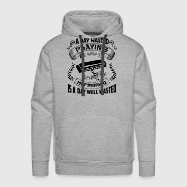 A Day Wasted Playing Harmonica Shirt - Men's Premium Hoodie