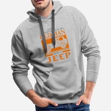 Jeep Funny Novelty Gift For Jeep Lover - Men's Premium Hoodie