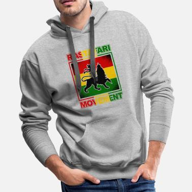 Marley Reggae Rastafari Movement - gift - Men's Premium Hoodie