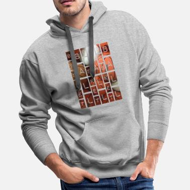 Shot Basketball - Men's Premium Hoodie