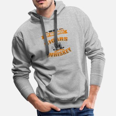 Ecstasy Cigars And Whiskey - Men's Premium Hoodie