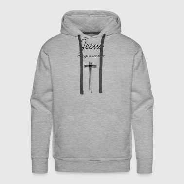 Addicted Jesus my savior Design - Gift idea for christians - Men's Premium Hoodie