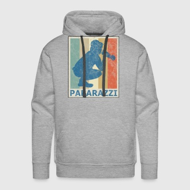 Retro Vintage Style Photographer Photography Photo - Men's Premium Hoodie