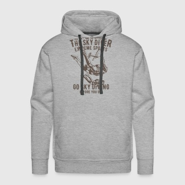 Extreme Sports Sky Diver Extreme Sports - Men's Premium Hoodie