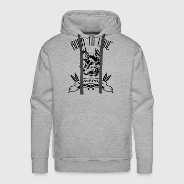 Bred To Love - Men's Premium Hoodie