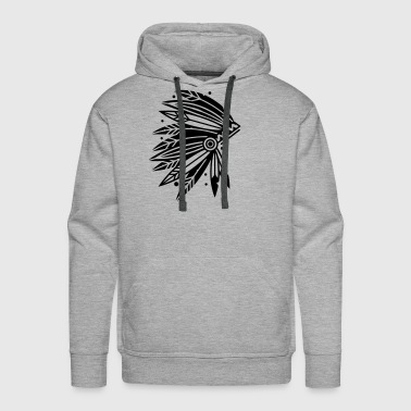 Chieftain's Headdress - Men's Premium Hoodie