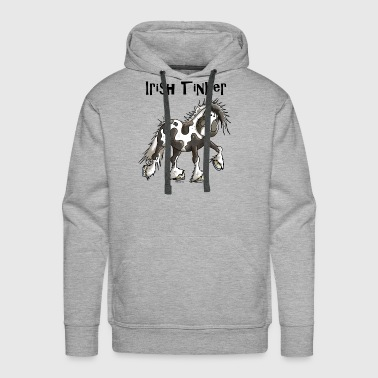 Irish Tinker Horse - Horses - Pony - Riding - Gift - Men's Premium Hoodie