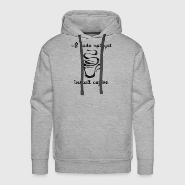 Science Sysadmin Coffee - Men's Premium Hoodie