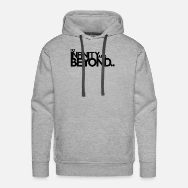 Infinity INFINITY AND BEYOND - Men's Premium Hoodie