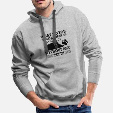 Meat What do you call a Bear - Men's Premium Hoodie