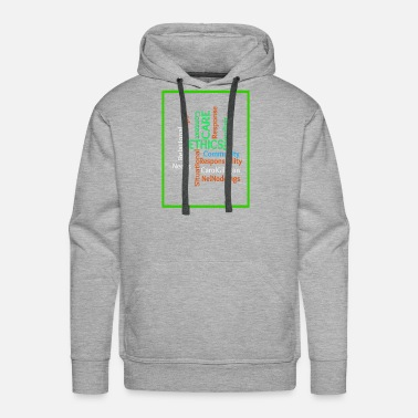 Ethical ethics quotes - Men's Premium Hoodie