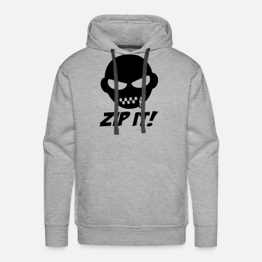 Funny Gym ZIP IT - Men's Premium Hoodie