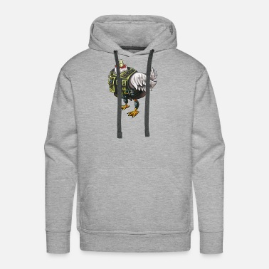 Headless Headless Chicken - Men's Premium Hoodie