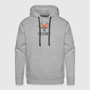 Perfect match - Men's Premium Hoodie