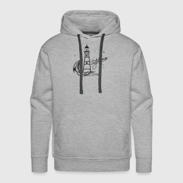 Lighthouse Coast North Sea Holiday Gift - Men's Premium Hoodie