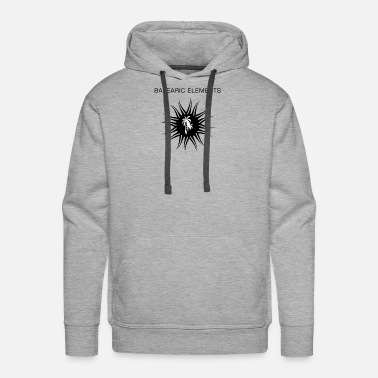 Balearic Elements Logo - Men's Premium Hoodie