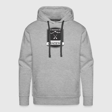 Water Sports Canoeing - Men's Premium Hoodie