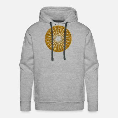 Galaxy CIRCLES KREISE GOLD 17 - Men's Premium Hoodie