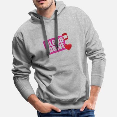 Drive Go By Car Pink blood drive - Men's Premium Hoodie