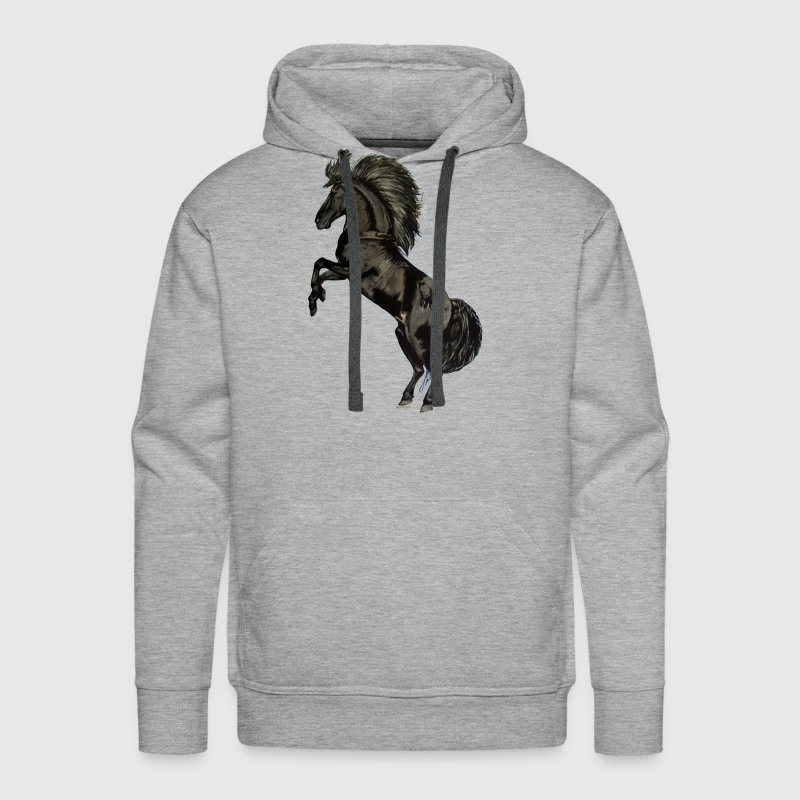 Black Stallion - Men's Premium Hoodie