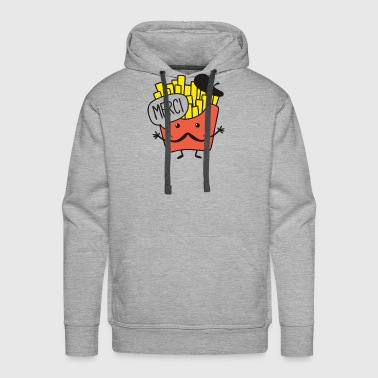French Fries T Shirt - Men's Premium Hoodie