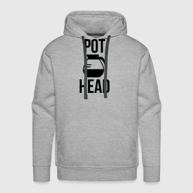 Pot Head - Men's Premium Hoodie