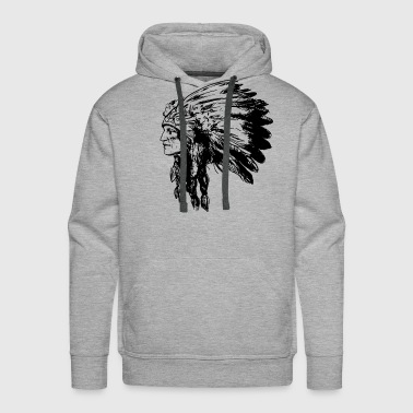 American Native Head - Men's Premium Hoodie
