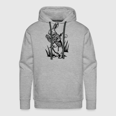 The White Rabbit - Men's Premium Hoodie